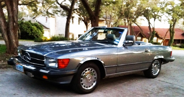 Mercedes benz sl 560 texas hill country for Mercedes benz sl 560