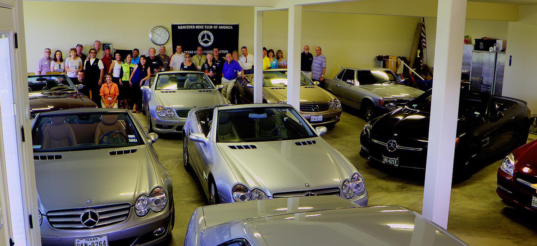 Texas Hill Country More Than A Car Club Were A Community - Mercedes tx car show
